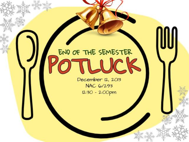Pot Luck Flyer