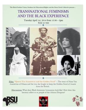 Transnational Feminisms and the Black Experience